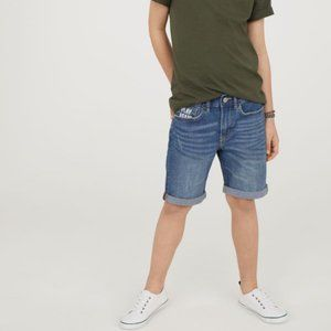 H&M Boys Super Stretch Jean Shorts